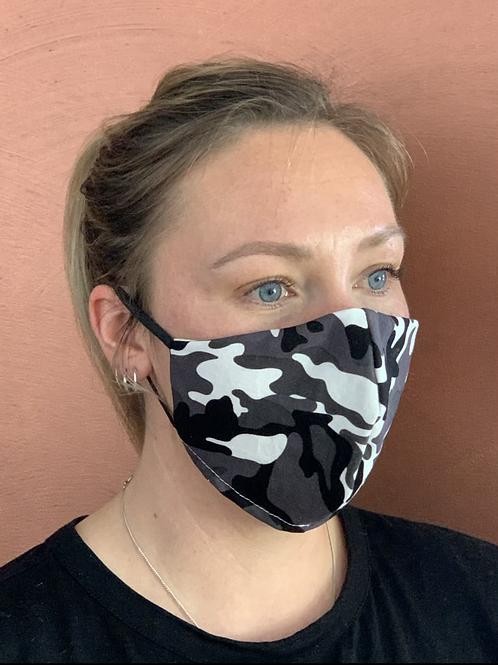 Camo-Grey mask & filter