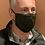 Thumbnail: Runners Dri Cool OLIVE mask & filter
