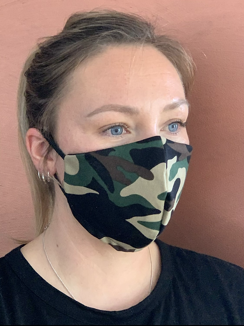 Camo-Green mask & filter