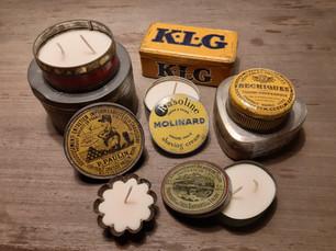 Bougies artisanales