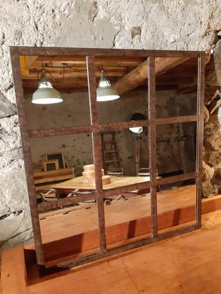 Miroir châssis de fenêtre