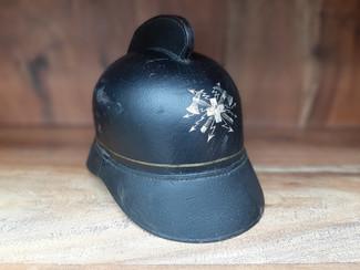 Ancien casque de pompier électricien