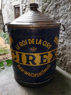 Bidon de cire CIREX