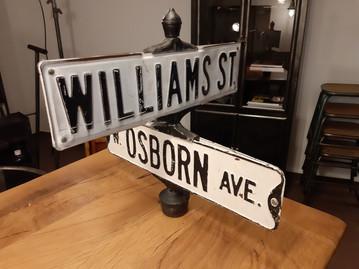 Plaques de rues US