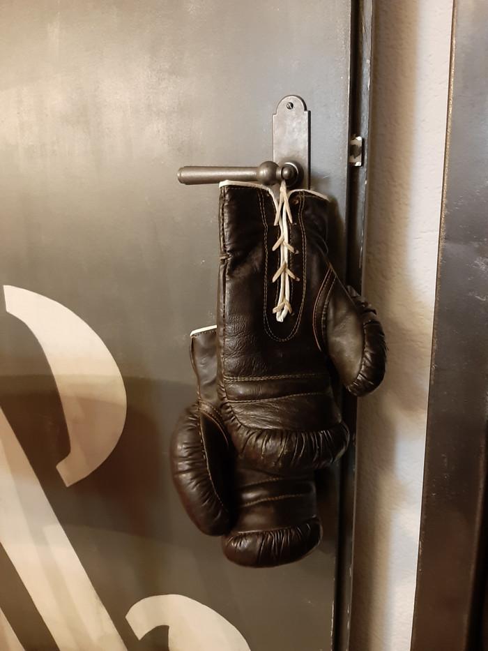 Gants de boxe vintage