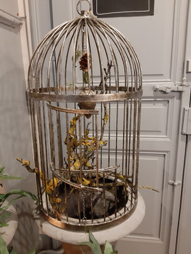 Ancienne cage