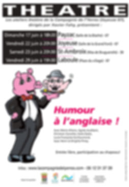 Spectacle Humour à l'anglaise
