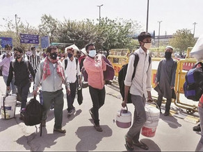 Migrant labour in India and their crisis amid the pandemic