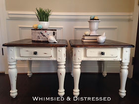 Farmhouse Style end tables