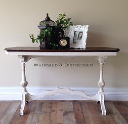 Vintage Library Table