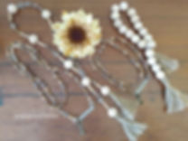 Decorative beaded Garland available this