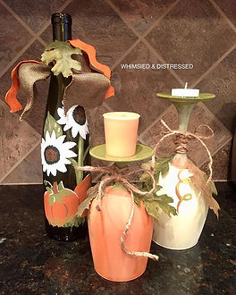 More Fall decor painted today! Headed to