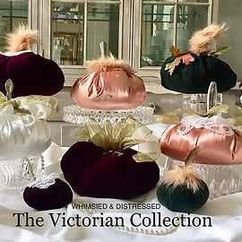 The Victorian Collection of handmade vel