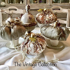 The Vintage Pumpkin Collection...availab