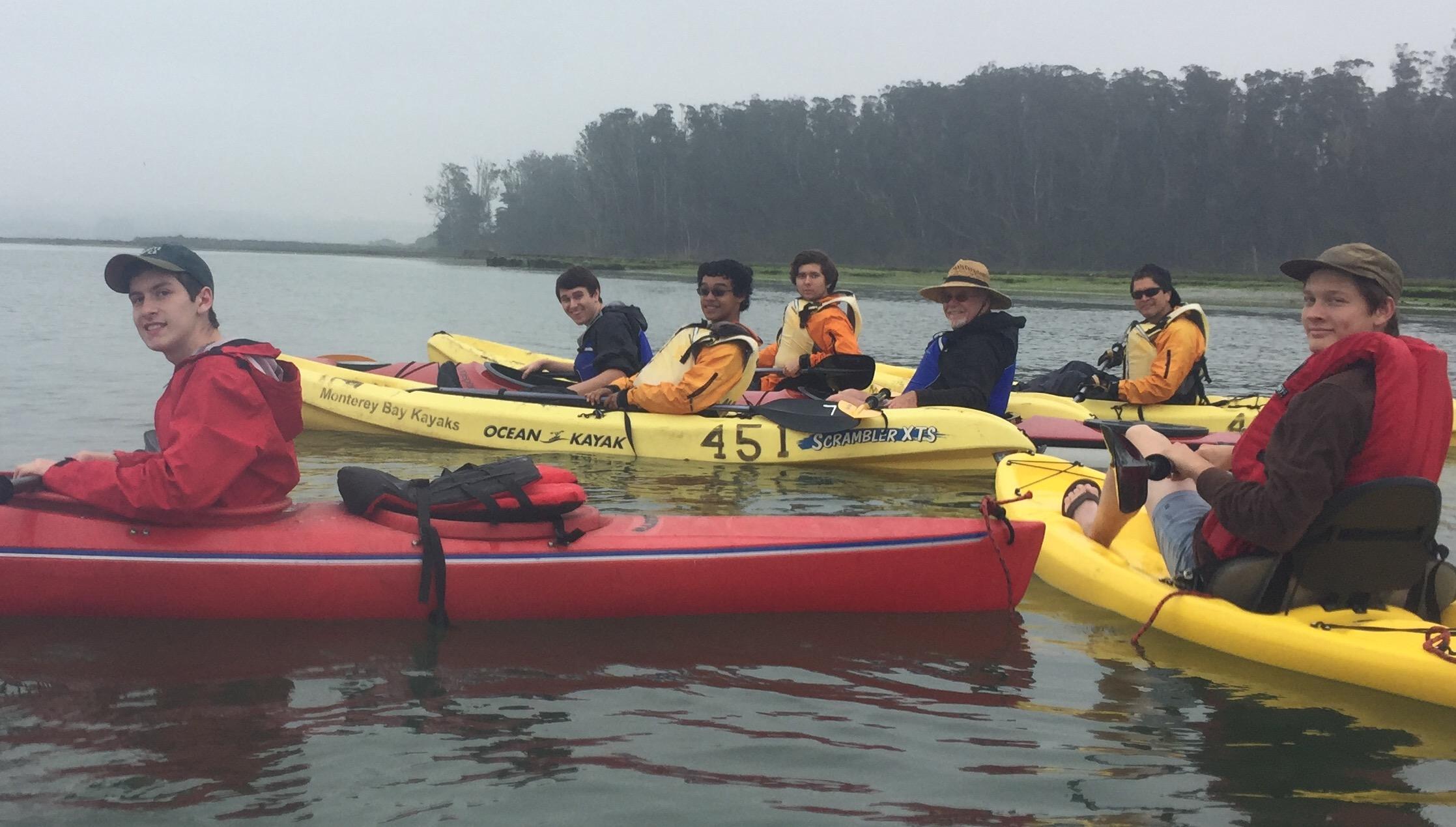 Kayaking Elkhorn Slough