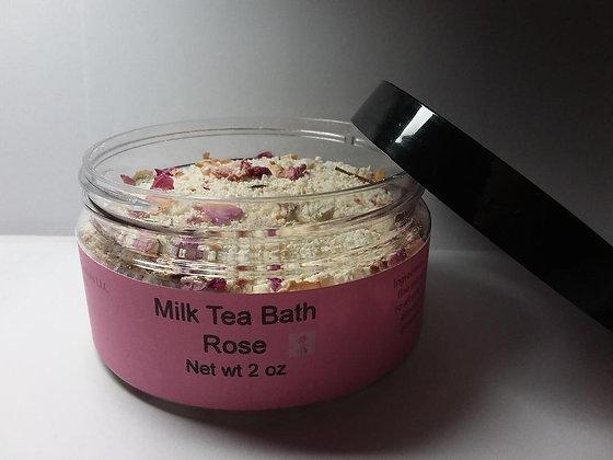 Rose Milk Bath Tea