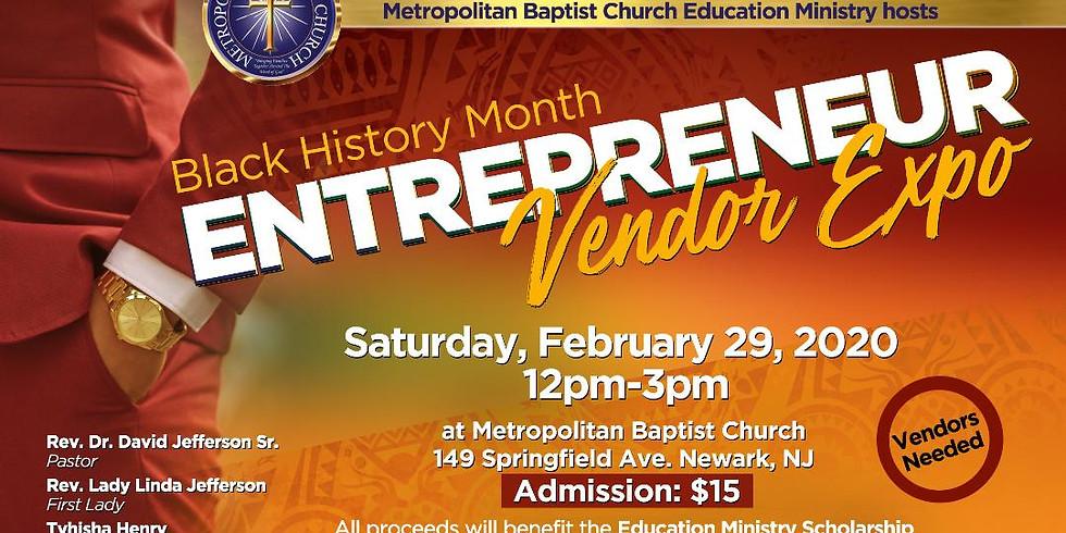 VENDING EVENT - Metropolitan Baptist Church