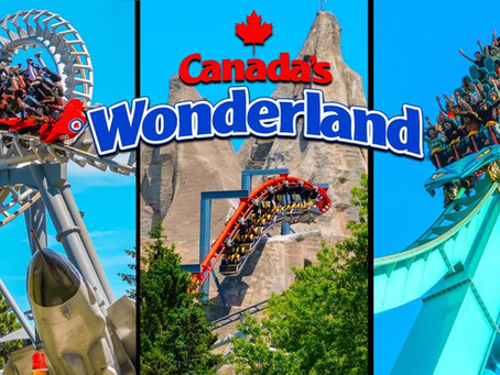 HERE'S HOW TO TAKE A VIRTUAL RIDE AT HOME ON THE COASTERS AND ATTRACTIONS OF CANADA'S WONDERLAND