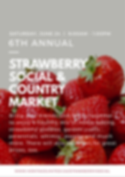 Heritage United Church 6th Annual Strawberry Social