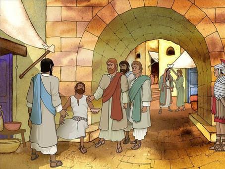 """Jesus Saw a Blind Man"""
