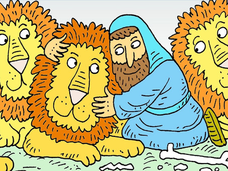 """""""The Hall of Faithfulness - Daniel and the Lions Den"""""""