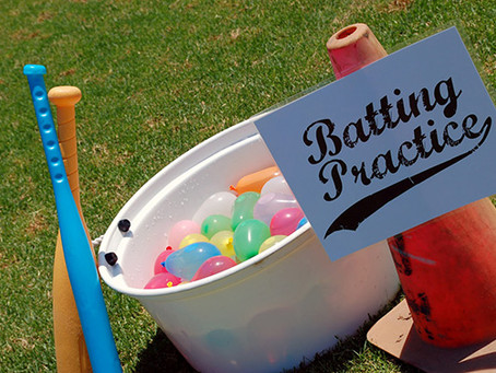 Water Balloon Baseball, Target Practice and More