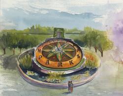 Floral Clock-Niagara Falls
