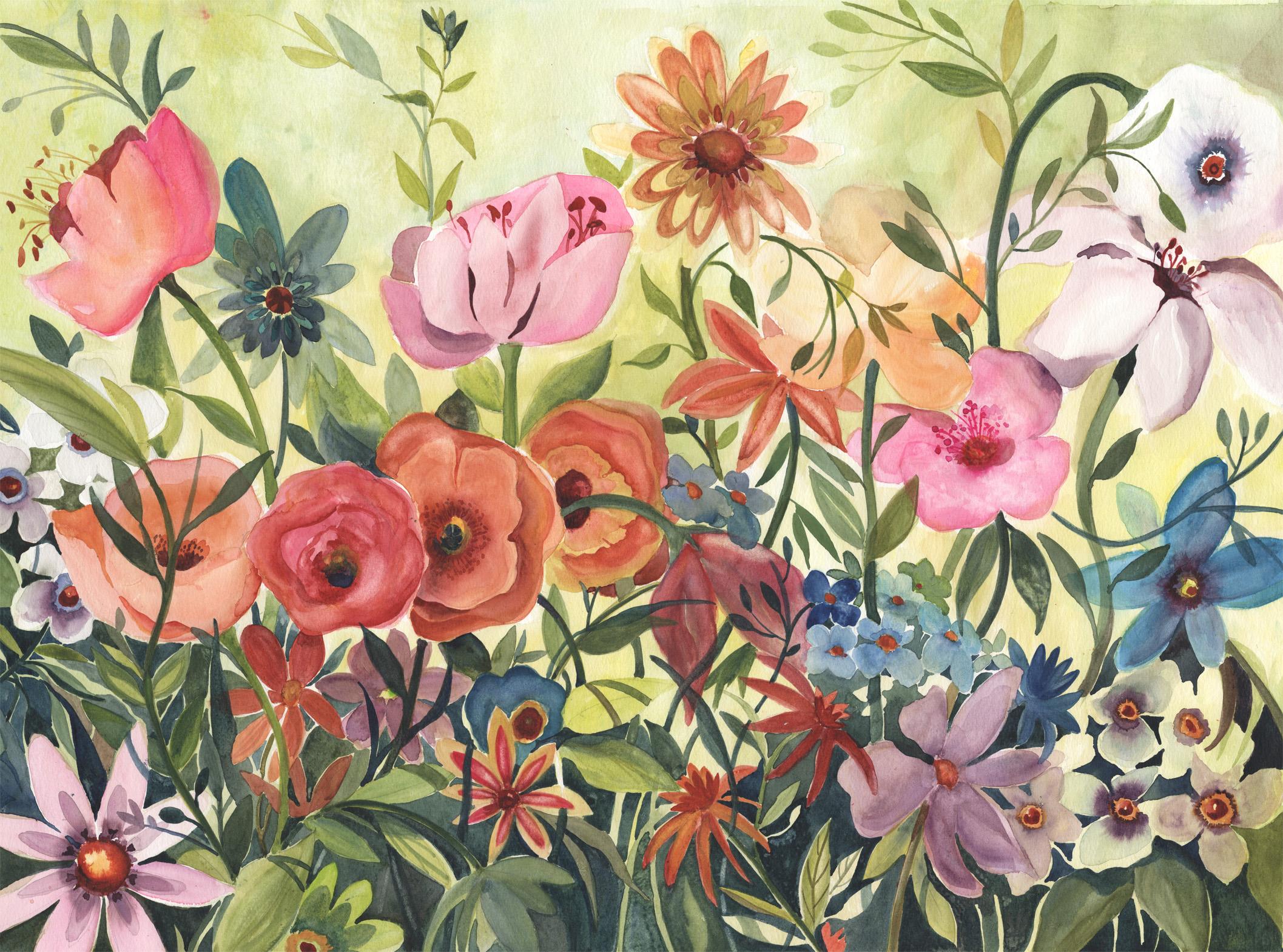 Happy Tangled Garden