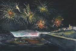 Fireworks Over Niagara Falls