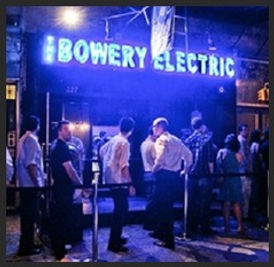 The Bowery Electric Outdoor Sign