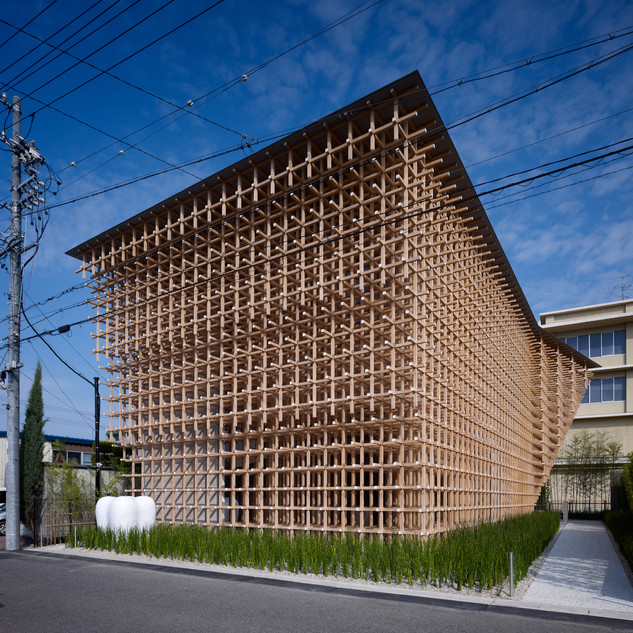 GC RESEARCH CENTER - KENGO KUMA & ASSOCIATES