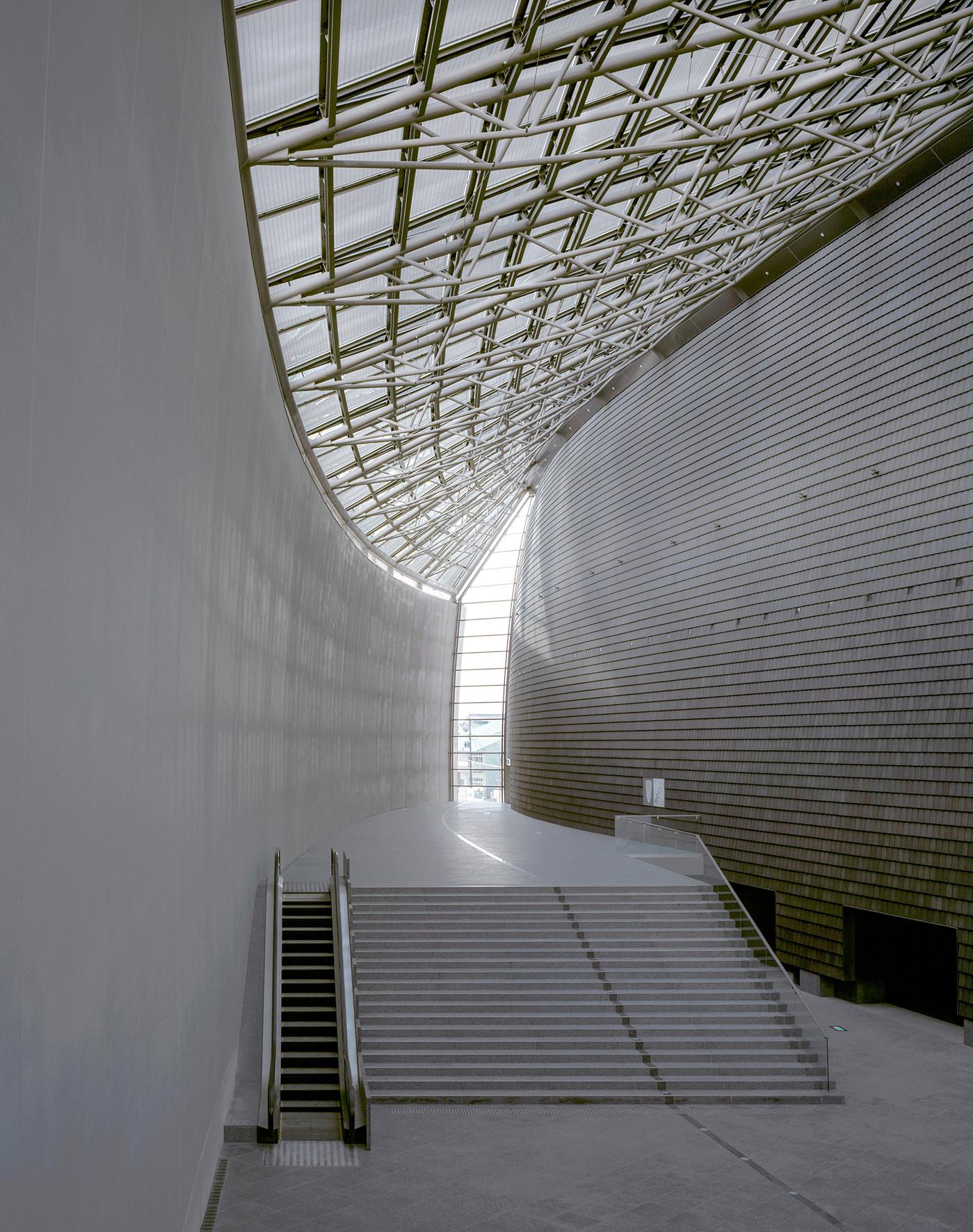 Nara Centennial Hall | ©Hisao Suzuki