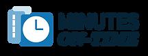 Minutes On-Time Logo 2021 (Blue, No Tagl