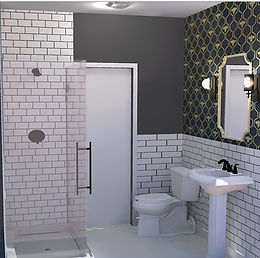 Bathroom remodel... Starting with an exterior repair...