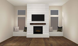 Drywall, Doors, Trim, Paint and Fireplace Surround