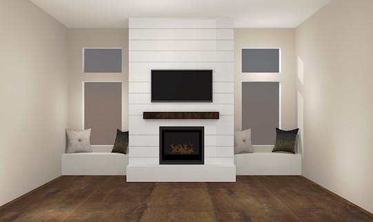 McCormick Fireplace Design Idea - Render
