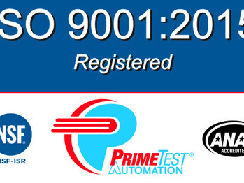 PrimeTest Automation® Achieves ISO 9001:2015 Certification
