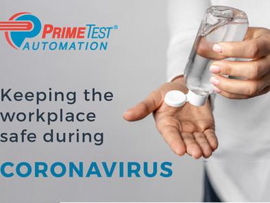 General Statement from PrimeTest® Automation on Coronavirus