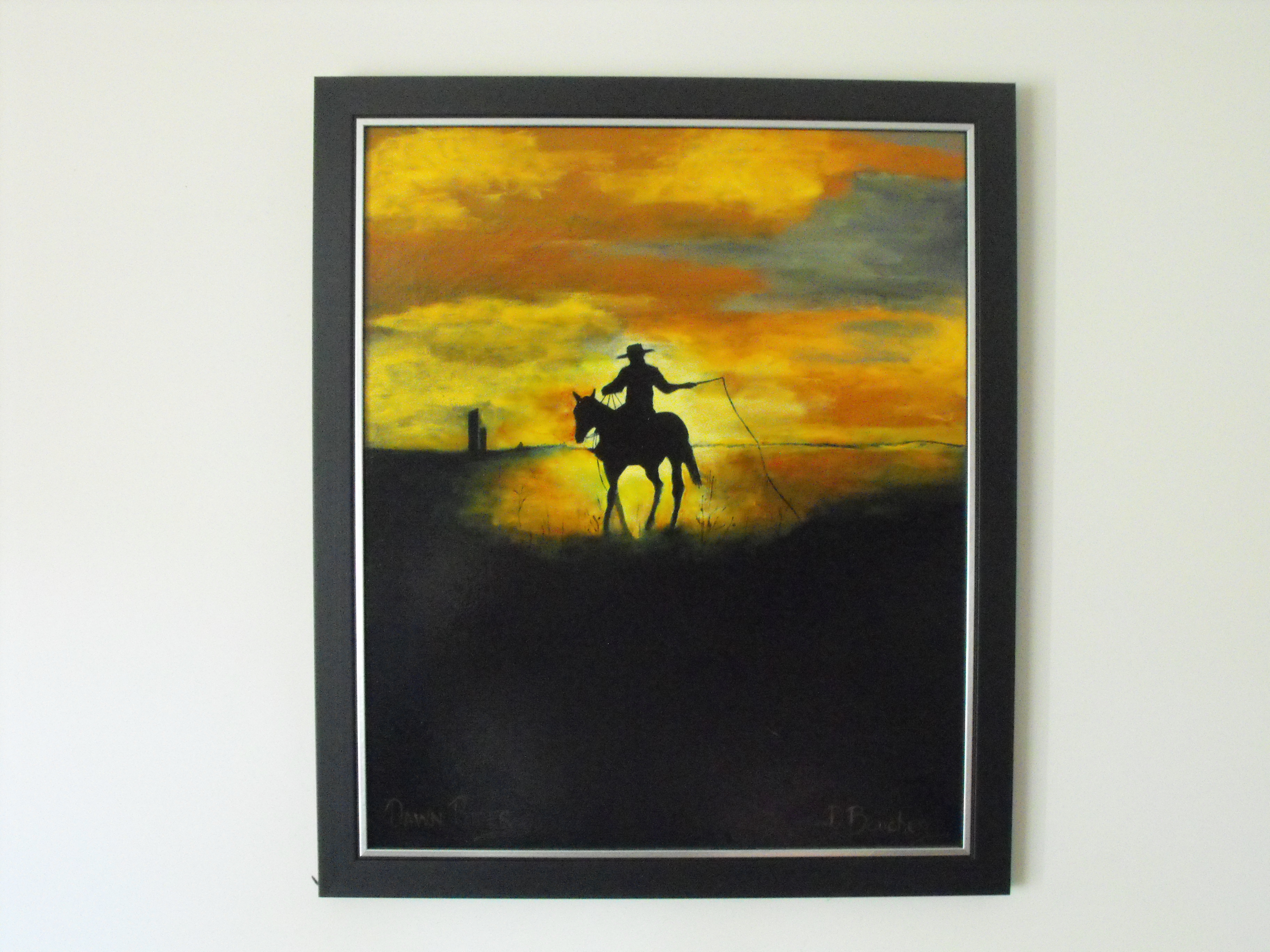 Copy (2) of Copy of Painting 11 Dawn Rider