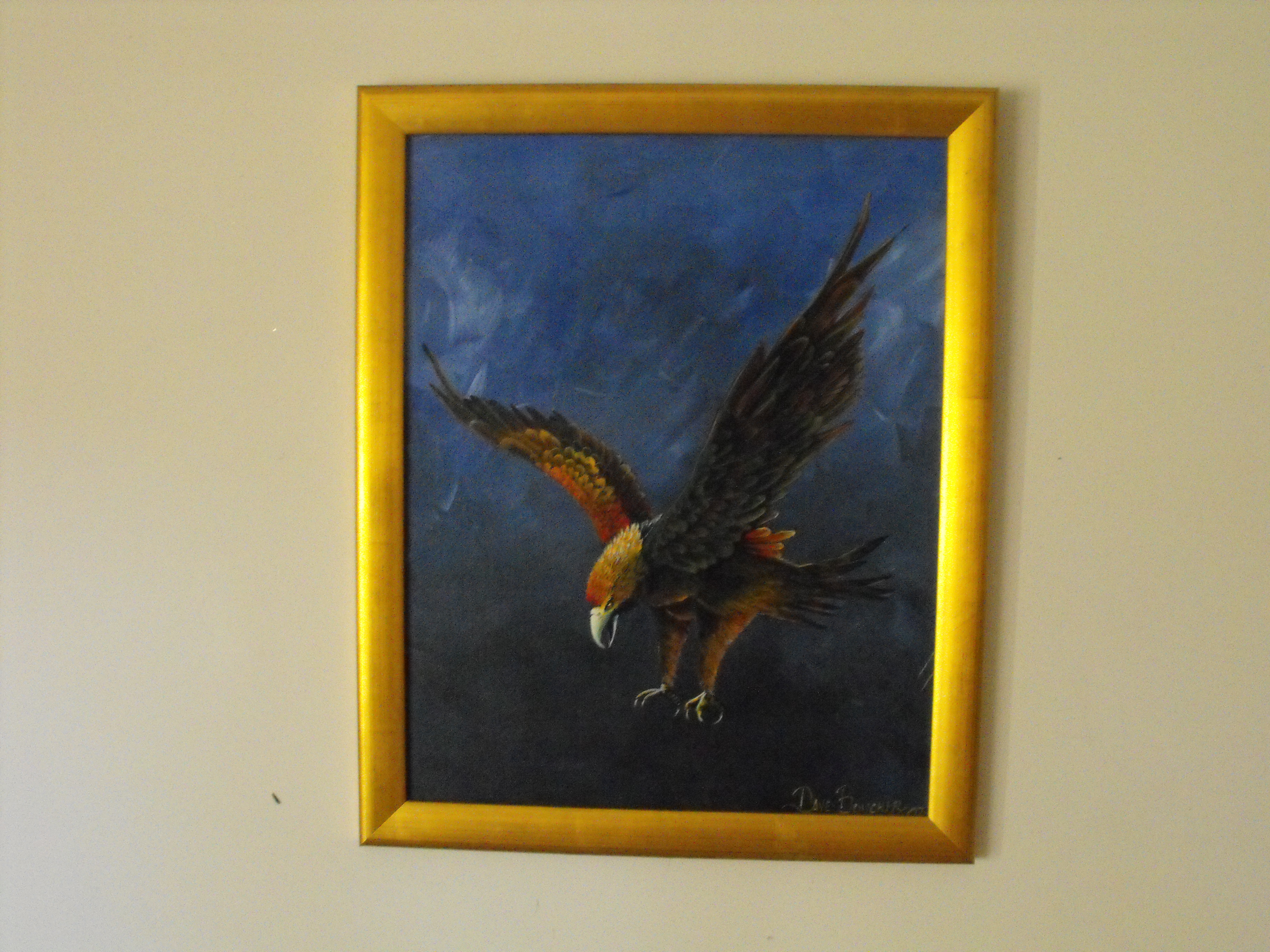 Copy (2) of Copy of Painting 23 Eddy the Eagle
