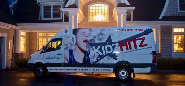 KidzHitz Express on the job!
