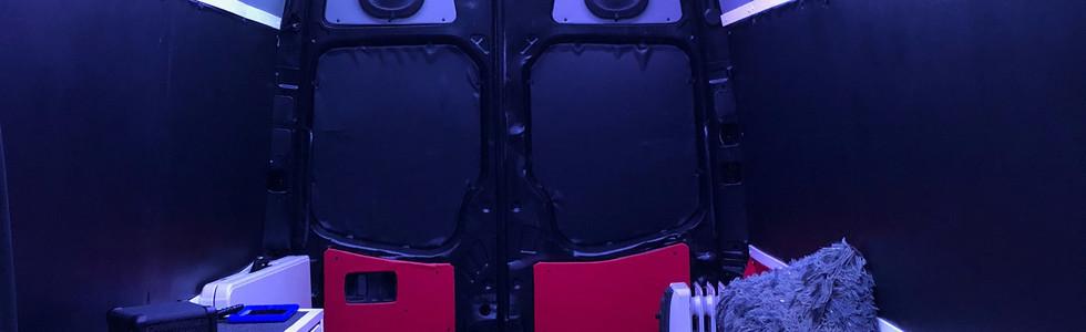 KidzHitz Express interior.