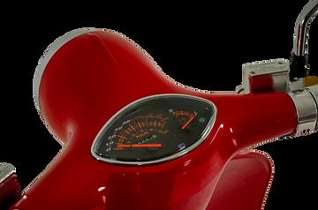 Retro e-scooter nuovo