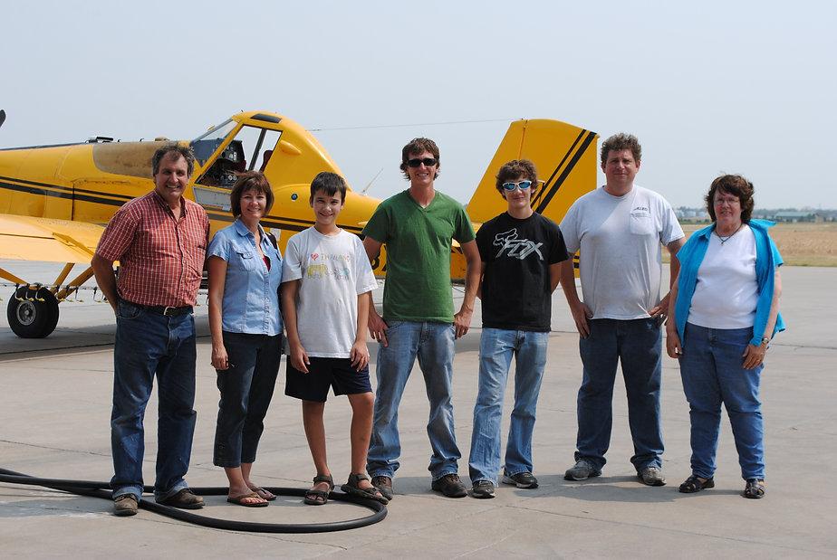Great Plains Spraying Crew