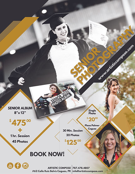 Senior PHOTOGRAPHY Packages