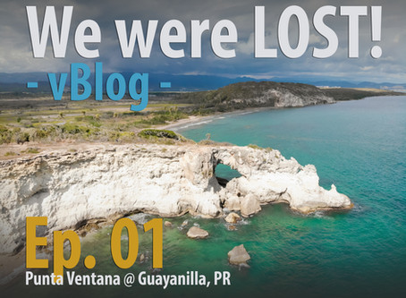 Ep. 01 vBlog - We Were Lost!