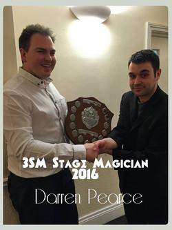 Darren Stage magician 2016