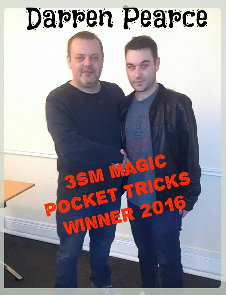 Darren Pocket Tricks magician 2016