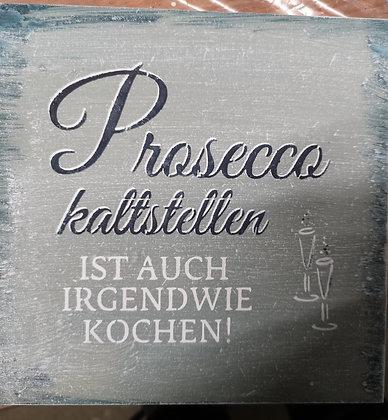 """Schablone """" Prosecco"""""""