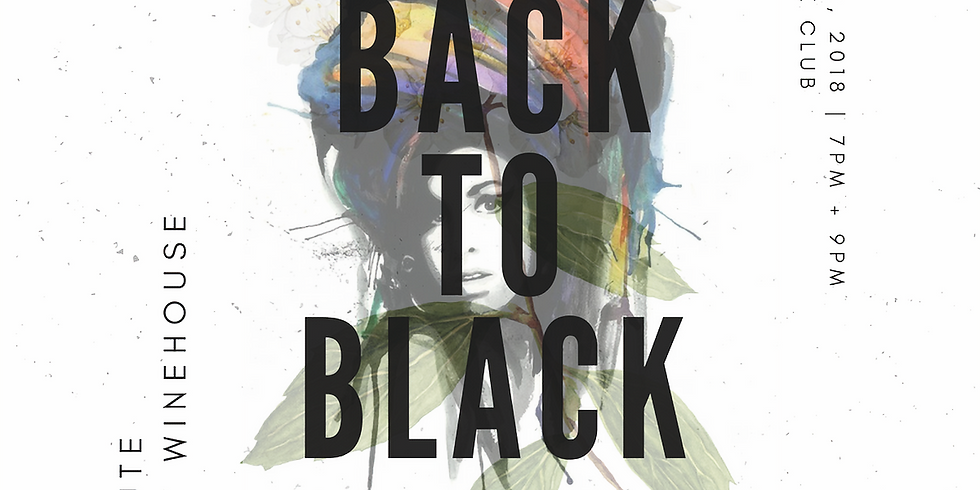 """Mina Moore presents """"Back to Black: A Tribute to Amy Winehouse"""""""